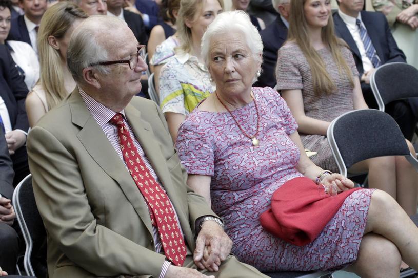 Albert II i księżna Paola /East News