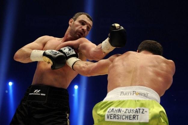Albert Sosnowski dzielnie walczył z Witalijem Kliczką /AFP