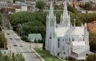 Alberta, kościół w Medicine Hat /Encyklopedia Internautica