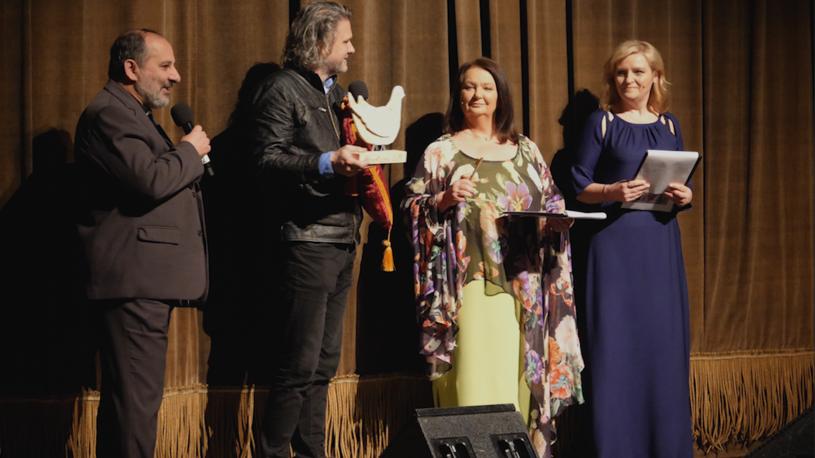 Albertiana 2018. Od lewej: Ks. T.Isakowicz - Zaleski, K. Głuchowski, A.Dymna, L. Jazgar /Krzysztof Zając /Styl.pl