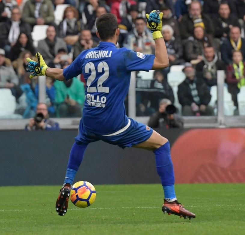 Alberto Brignoli, bramkarz Benevento Calcio /AFP
