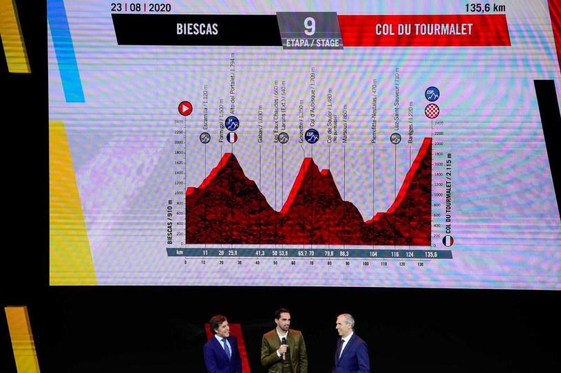 Alberto Contador podczas prezentacji 75. edycji Vuelta a Espana /AFP