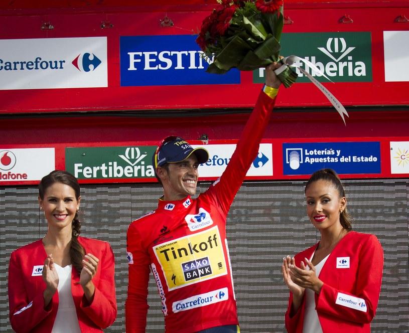 Alberto Contador zwycięzcą Vuelta a Espana /AFP