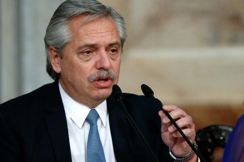 Alberto Fernandez /JUAN IGNACIO RONCORONI /PAP/EPA
