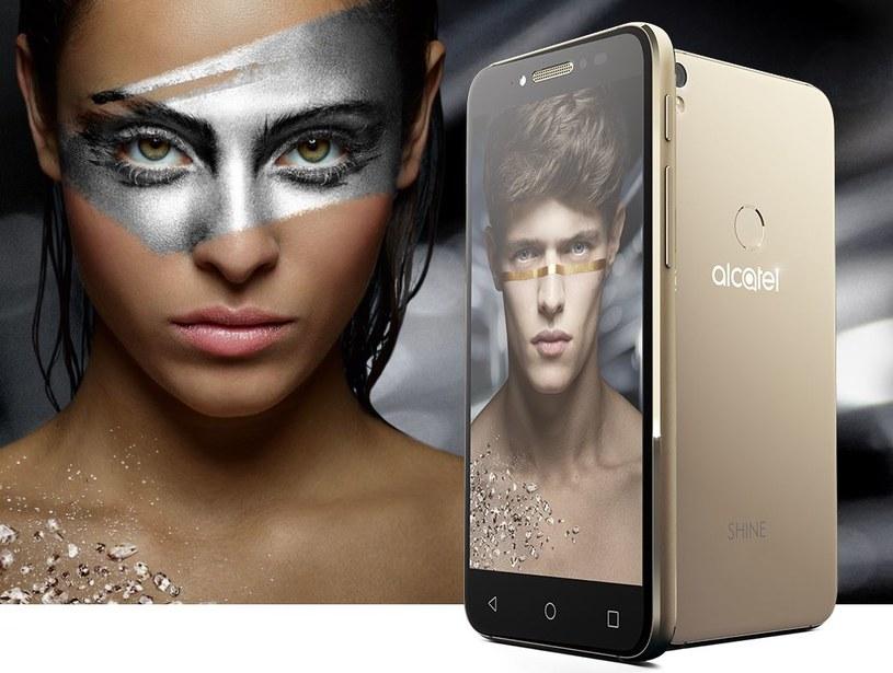 Alcatel Shine Lite to smartfon przede wszystkim ładny /materiały prasowe