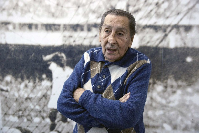 Alcides Ghiggia (zdjęcie z 2010 roku), który w 1950 roku uciszył Maracanę /AFP