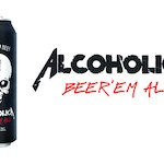 AlcoholicA ze swoim piwem