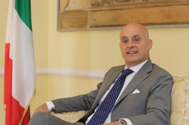 Aldo Amati ambasador Włoch w Polsce /foto. Rafał Miżejewski /RMF FM