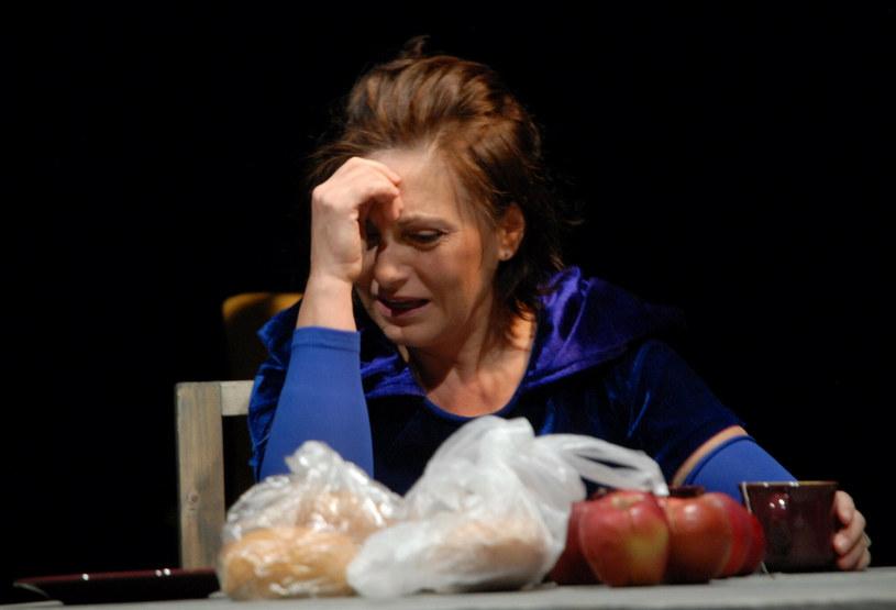 Aldona Grochal na scenie w 2010 roku /Marek Lasyk  /Reporter