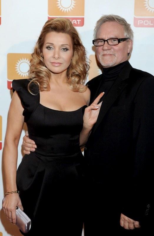 Aldona Orman z mężem /AIM