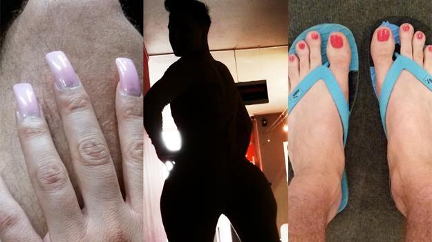 Ale transformacja! Czy Marek Kaliszuk spodoba się widzom jako Nicki Minaj? /Polsat