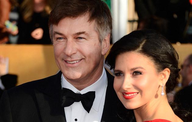 Alec Baldwin z żoną /Frazer Harrison /Getty Images