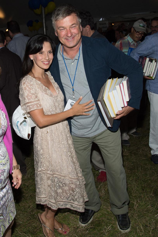 Alec Baldwin z żoną /Mark Sagliocco /Getty Images