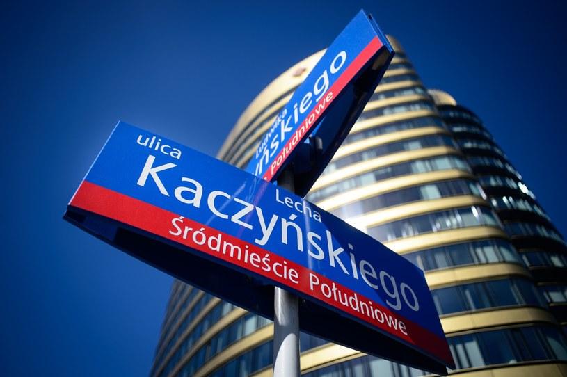 Aleja Lecha Kaczyńskiego w Warszawie /Zbyszek Kaczmarek /Reporter