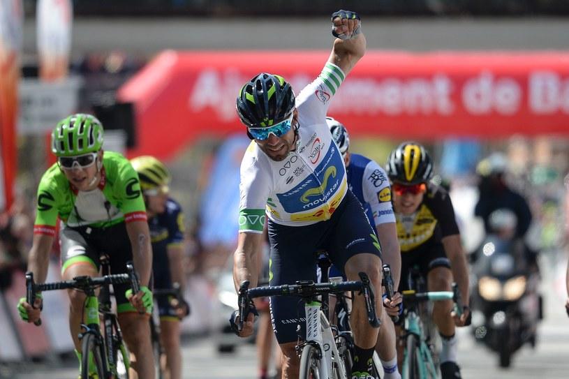 Alejandro Valverde triumfował w Barcelonie /AFP