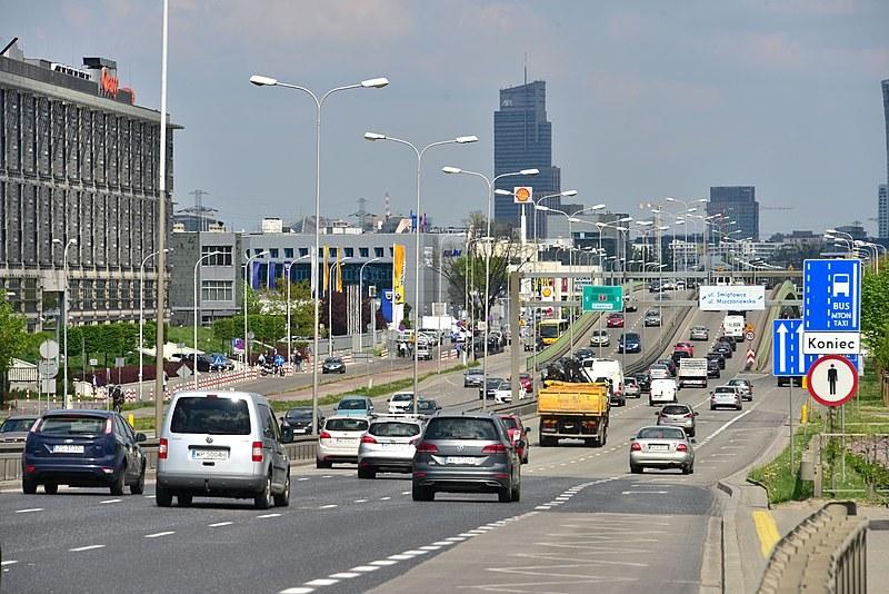 Aleje Jerozolimskie w Warszawie /commons.wikimedia.org/Adrian Grycuk/CC BY-SA 3.0 PL /