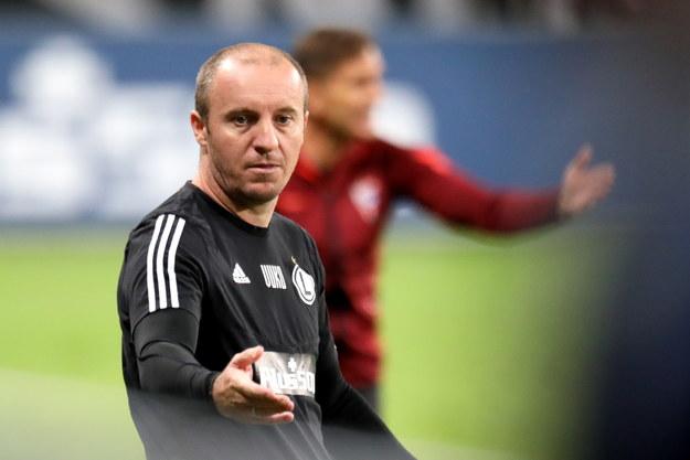 Aleksandar Vuković podczas meczu piłkarskiej Ekstraklasy z Górnikiem Zabrze /Leszek Szymański /PAP