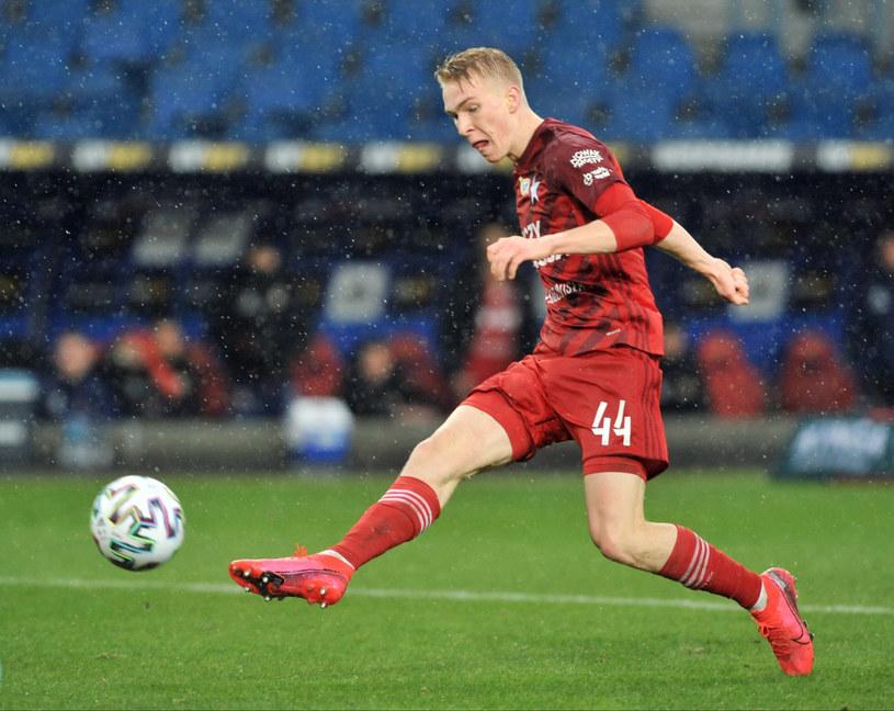 Aleksander Buksa wrócił ze zgrupowania kadry U-19. Teraz chce pomóc Wiśle. Aleksander Buksa /MICHAL KLAG/REPORTER /East News