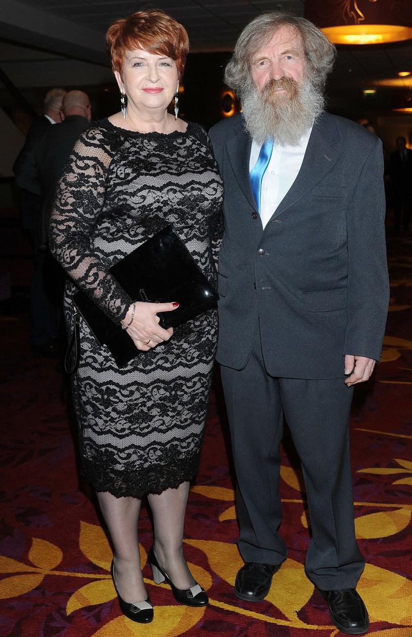 Aleksander Doba z żoną Gabrielą /Michał Wargin /East News