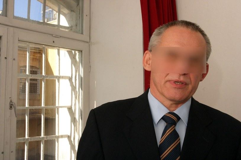 Aleksander G. w więzieniu na ul. Rakowieckiej w Warszawie, 2005 r. /Tadeusz Pozniak /Reporter