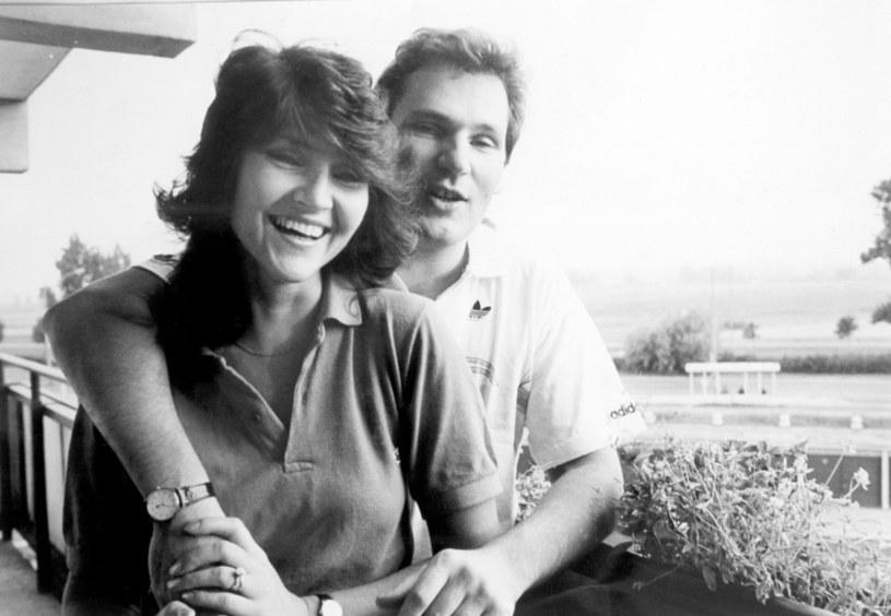 Aleksander i Jolanta Kwaśniewscy, 1988 rok /Laski Diffusion /East News
