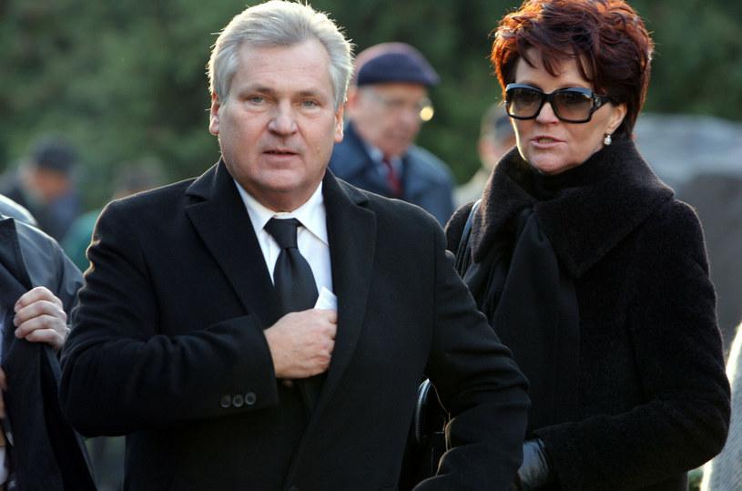 Aleksander i Jolanta Kwaśniewscy zarażeni koronawirusem /Bartosz Krupa /East News