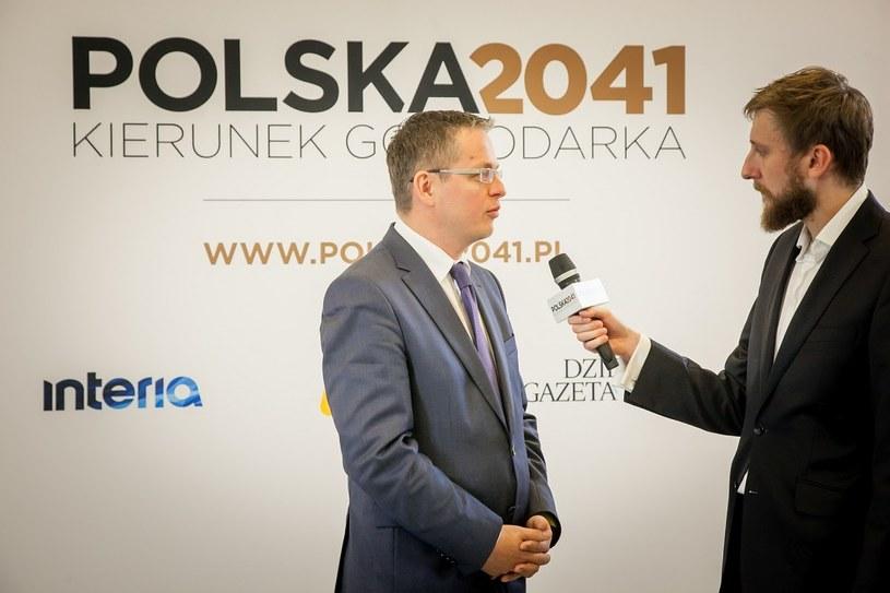Aleksander Korsak - dyrektor Obszaru Zarządzania Strategią Sprzedażową oraz Sprzedażą Produktów w Pionie Bankowości Biznesowej i Korporacyjnej BZ WBK /INTERIA.PL