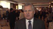 Aleksander Kwasniewśki: Boję się, że kryzys ukraiński będzie długotrwały