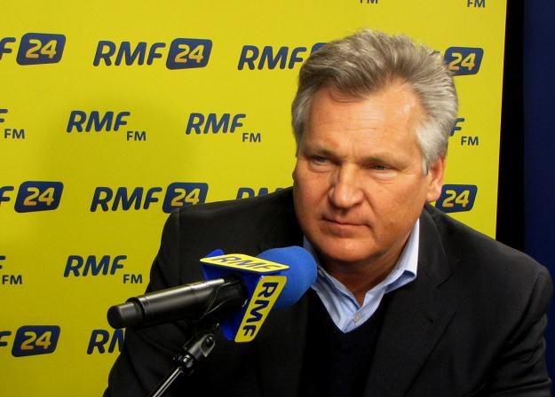 Aleksander Kwaśniewski w Kontrwywiadzie RMF FM /RMF