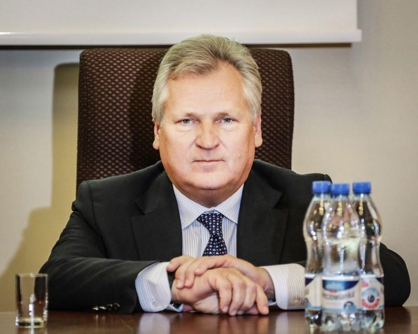 Aleksander Kwaśniewski /Beata Zawrzel /Reporter