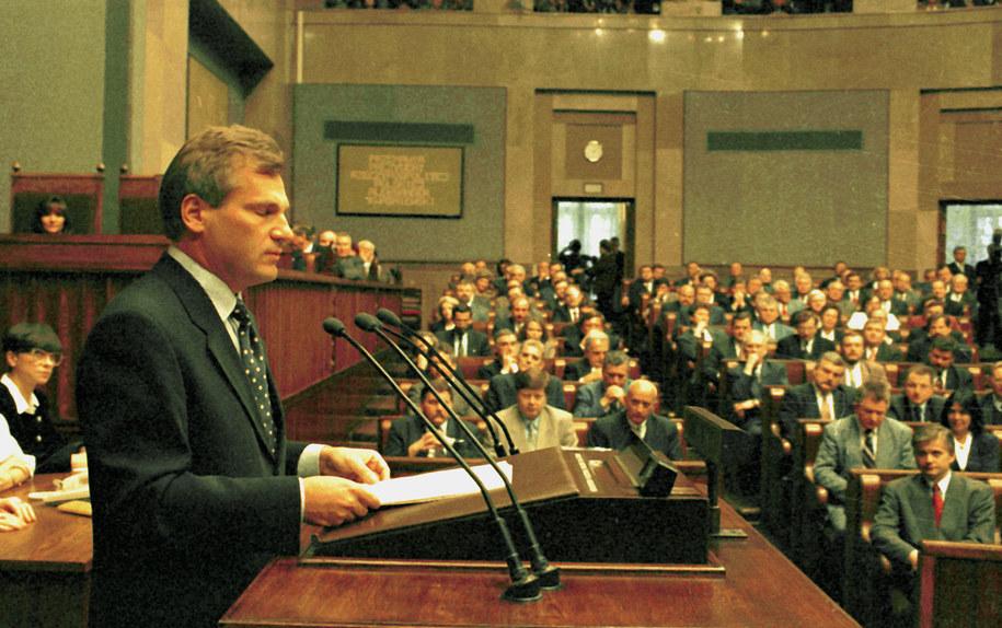 Aleksander Kwaśniewski /Damazy Kwiatkowski (PAP) /PAP