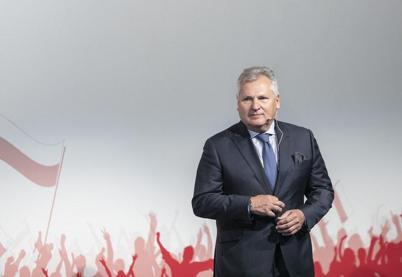 Aleksander Kwaśniewski /Leszek Kotarba  /East News