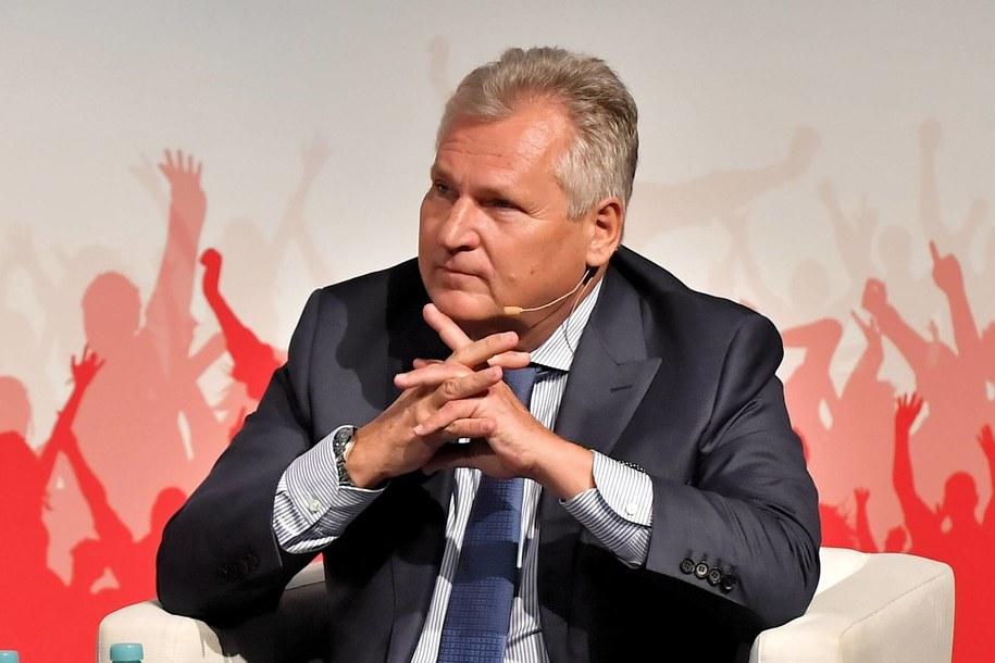 Aleksander Kwaśniewski / Maciej Kulczyński    /PAP