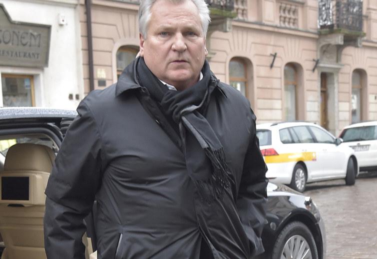 Aleksander Kwaśniewski /Niemiec /AKPA