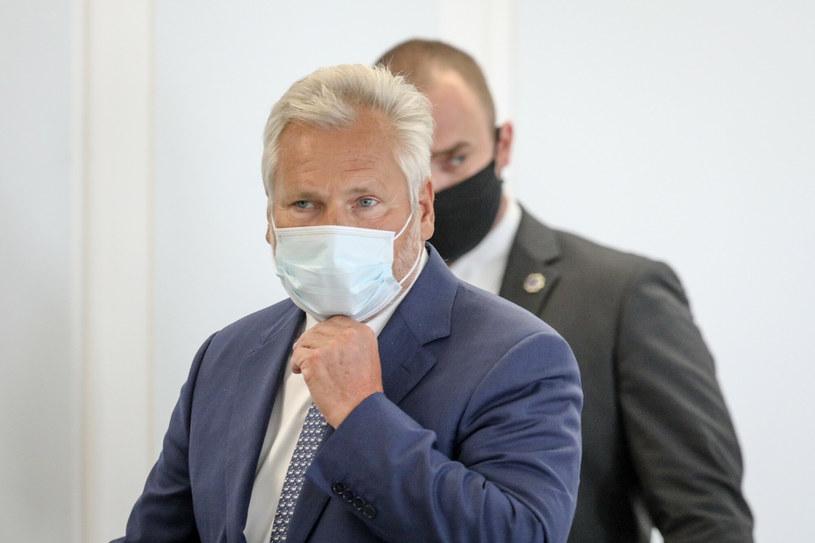 Aleksander Kwaśniewski /Tomasz Jastrzebowski/REPORTER /Reporter