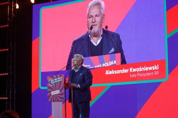 Aleksander Kwaśniewski /Albert Zawada /PAP