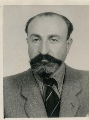 Aleksander Liberman, zdjęcie z 1946 r. /Archiwum Tomasza Szczerbickiego