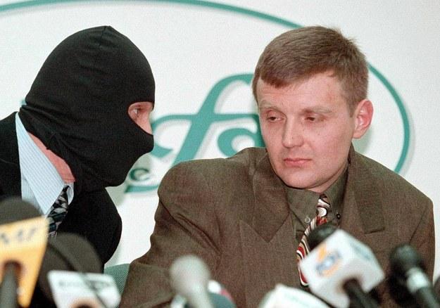 Aleksander Litwinienko w 1998 roku /SERGEI KAPTILKIN /PAP/EPA