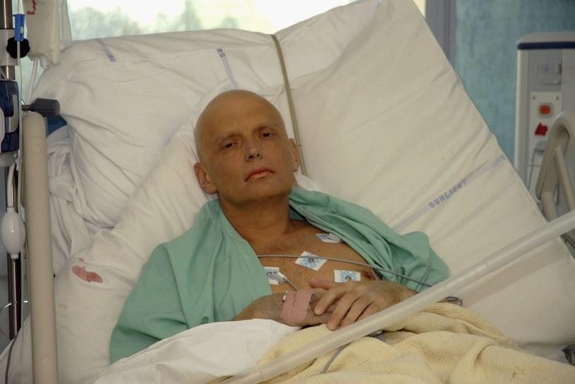 Aleksander Litwinienko w szpitalu w Londynie /Natasja Weitsz /Getty Images