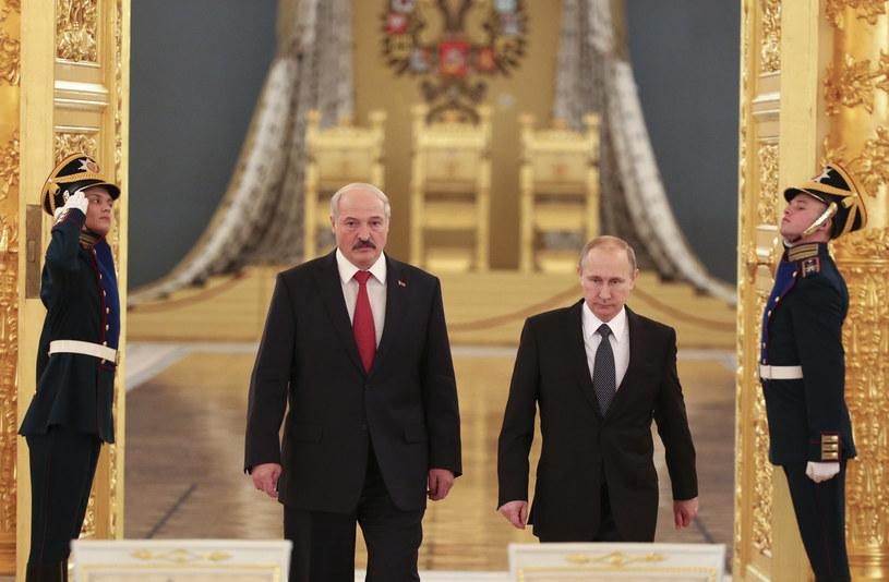 Aleksander Łukaszenko i Władimir Putin /AFP