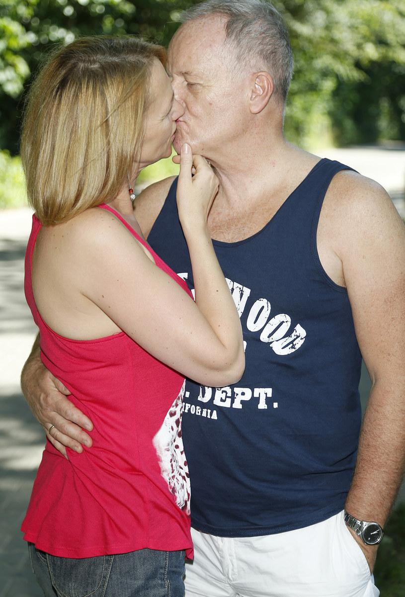 Aleksander Mikołajczak z żoną /Podlewski /AKPA