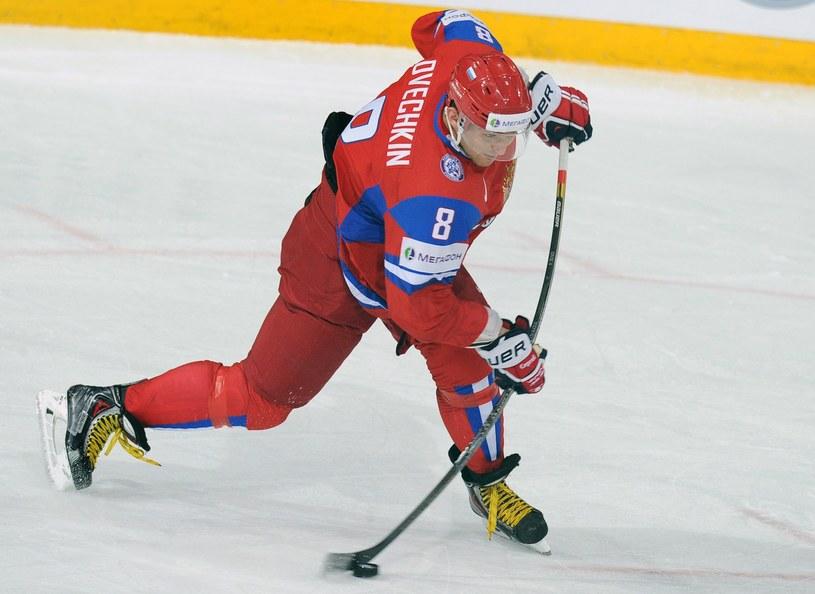 Aleksander Owieczki z Washington Capitals zapowiedział, że wystąpi na IO w Soczi /AFP