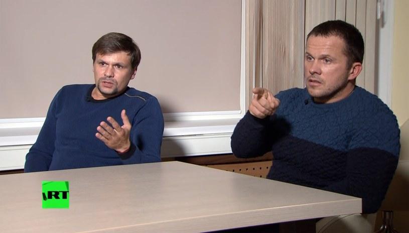 Aleksander Petrow i Rusłan Boszyrow, jak uważano do tej pory. Dziś okazuje się, że ich tożsamość jest inna /SPUTNIK Russia /East News