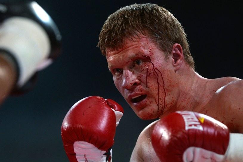 Aleksander Powietkin znokautował Francuza Duhaupasa, walcząc pod wpływem dopingu /East News /East News