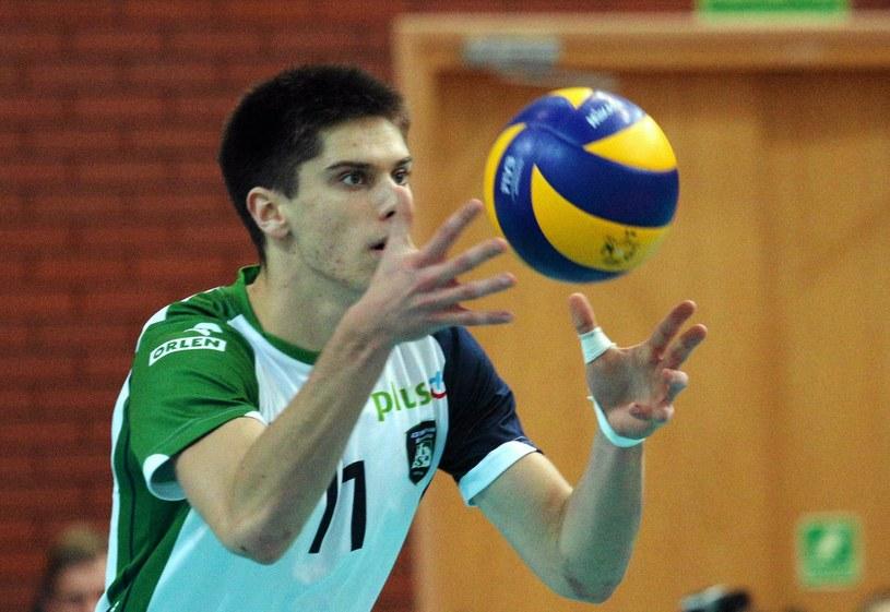 Aleksander Śliwka ma szansę zadebiutować w reprezentacji Polski /Kuba Atys /