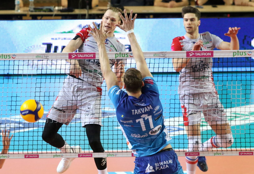 Aleksander Śliwka (pierwszy z prawej) /Krzysztof Świderski /PAP