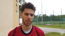 Aleksander Śliwka: Świetnie się zobaczyć z chłopakami. Wideo
