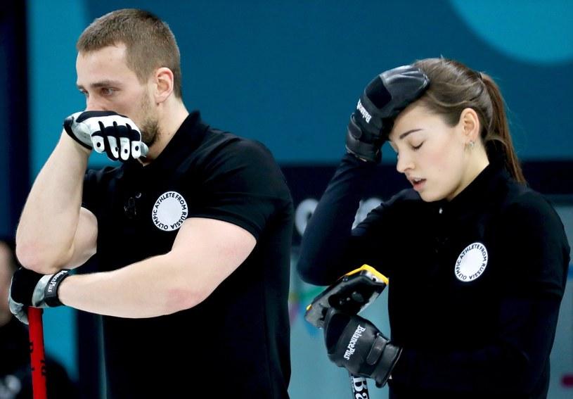Aleksandr Kruszelnicki z żoną Anastazją Bryzgałową /PAP/EPA