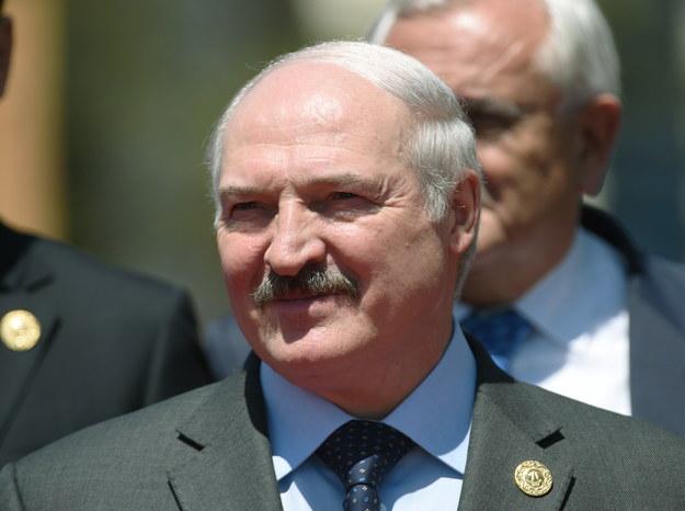 Aleksandr Łukaszenka / Radek Pietruszka   /PAP