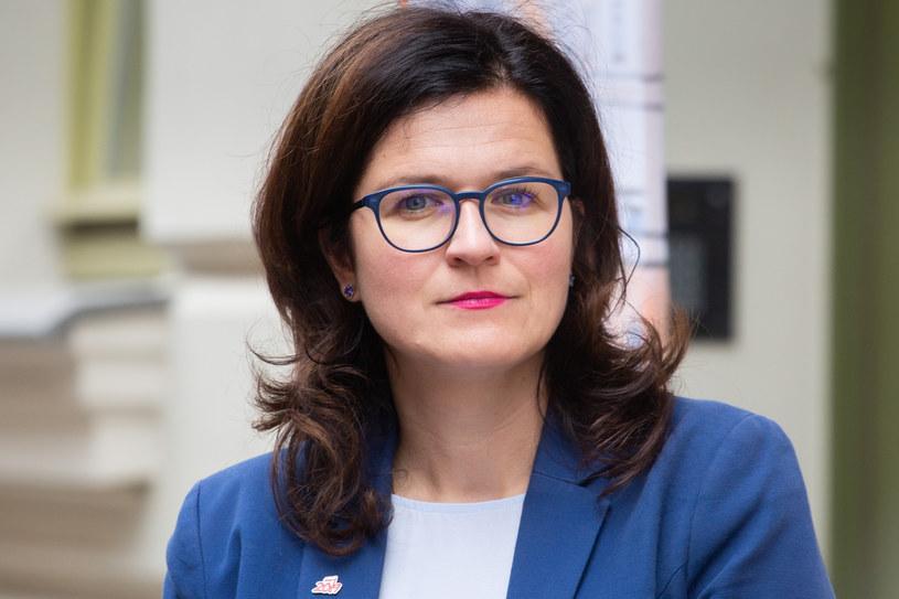 Aleksandra Dulkiewicz, prezydent Gdańska. /Anna Rezulak /Reporter